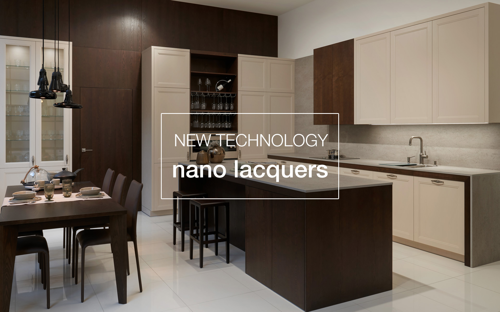 We are first again! We introduced the most advanced technology of lacquering – nano lacquers.