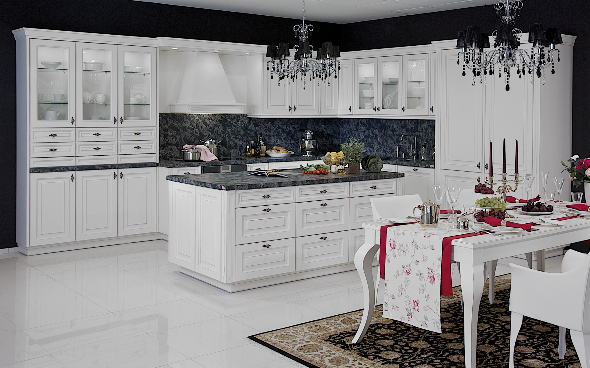 Milano Kitchen on modern interior design style