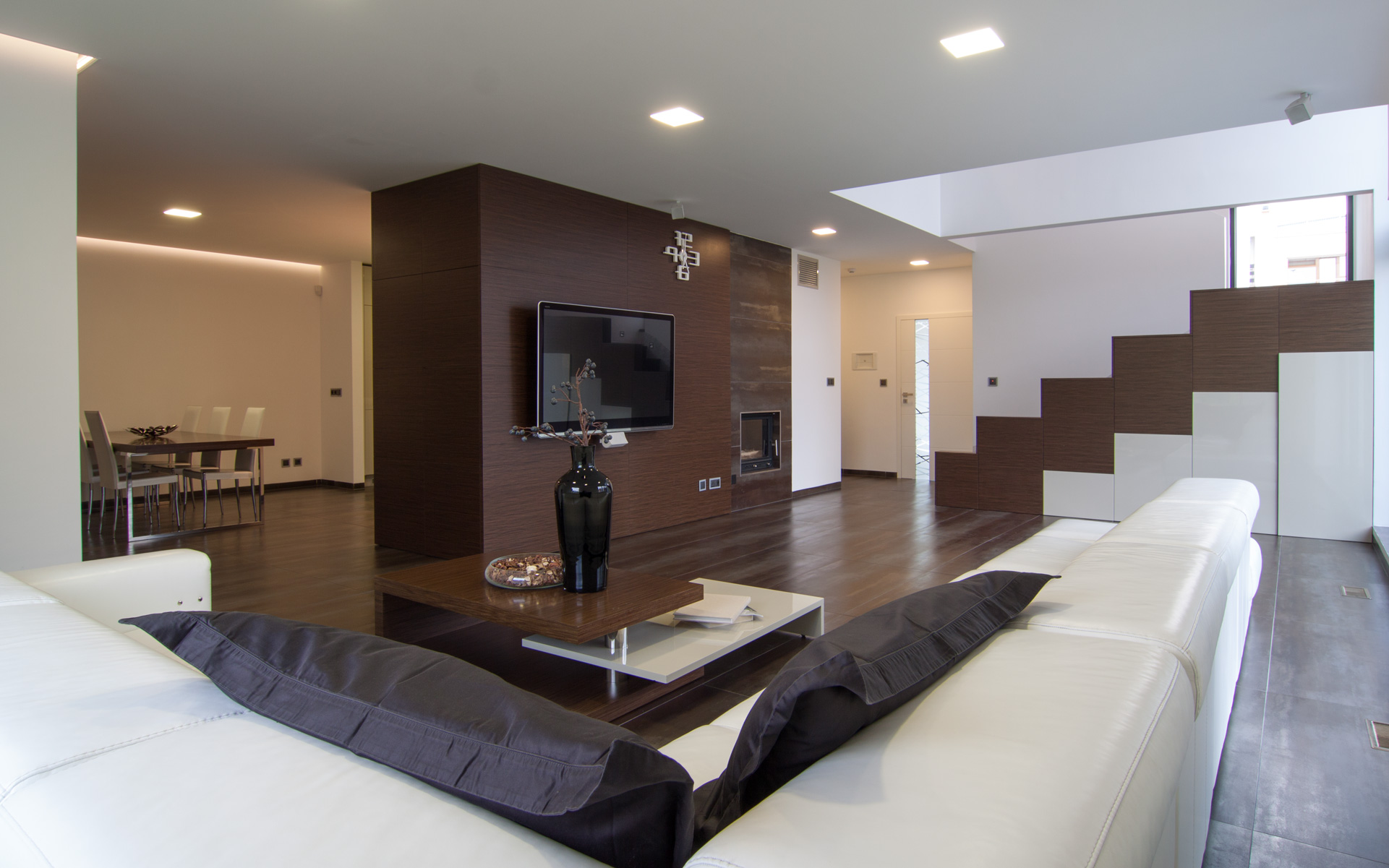 Modern family house with HANAK furniture, kitchen, bedroom etc.