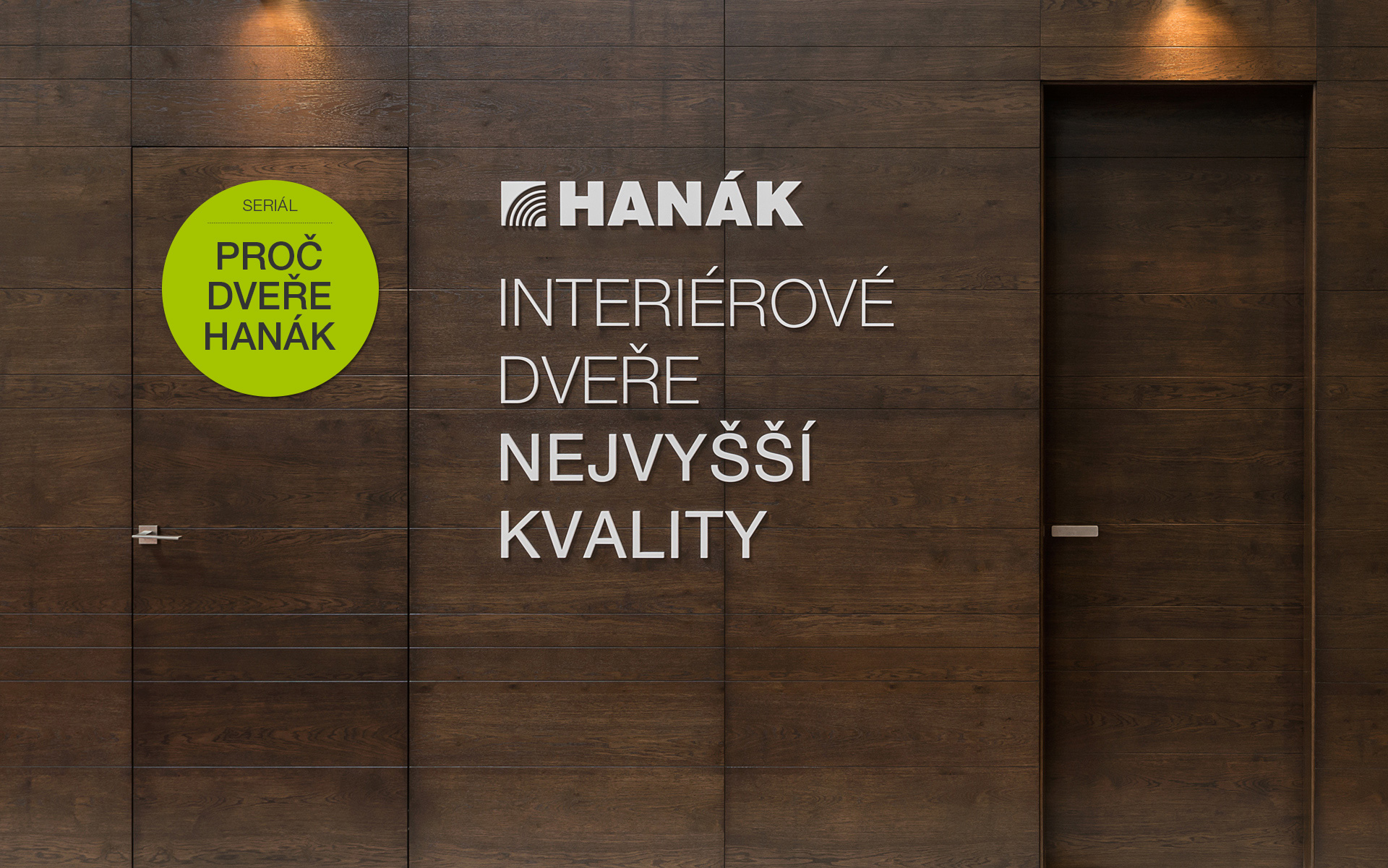 MINISERIES, PART I – Why to choose our HANÁK interior doors?