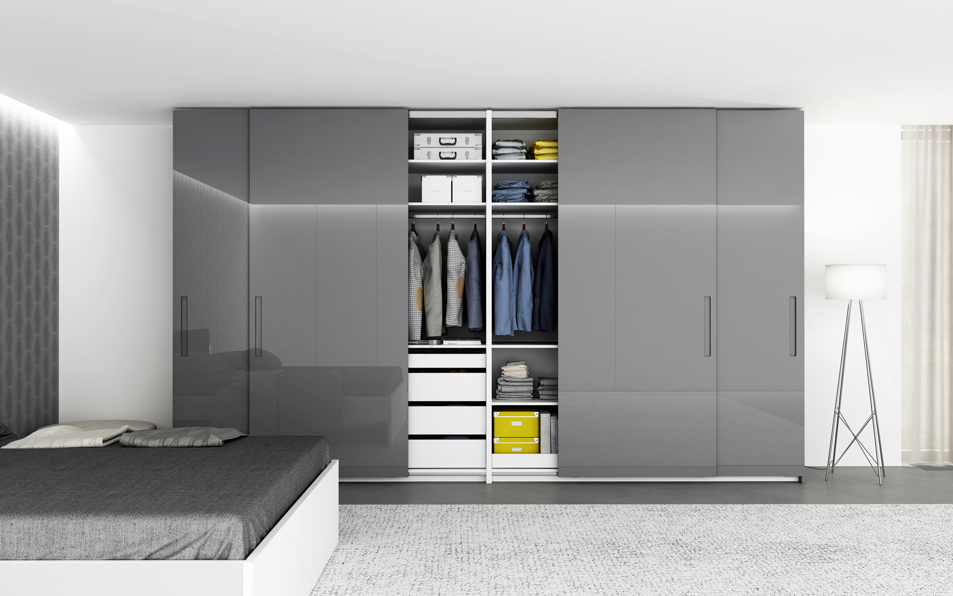 New wardrobes and closets! We have attractive and sophisticated models in a non-standard wide range of products for you.