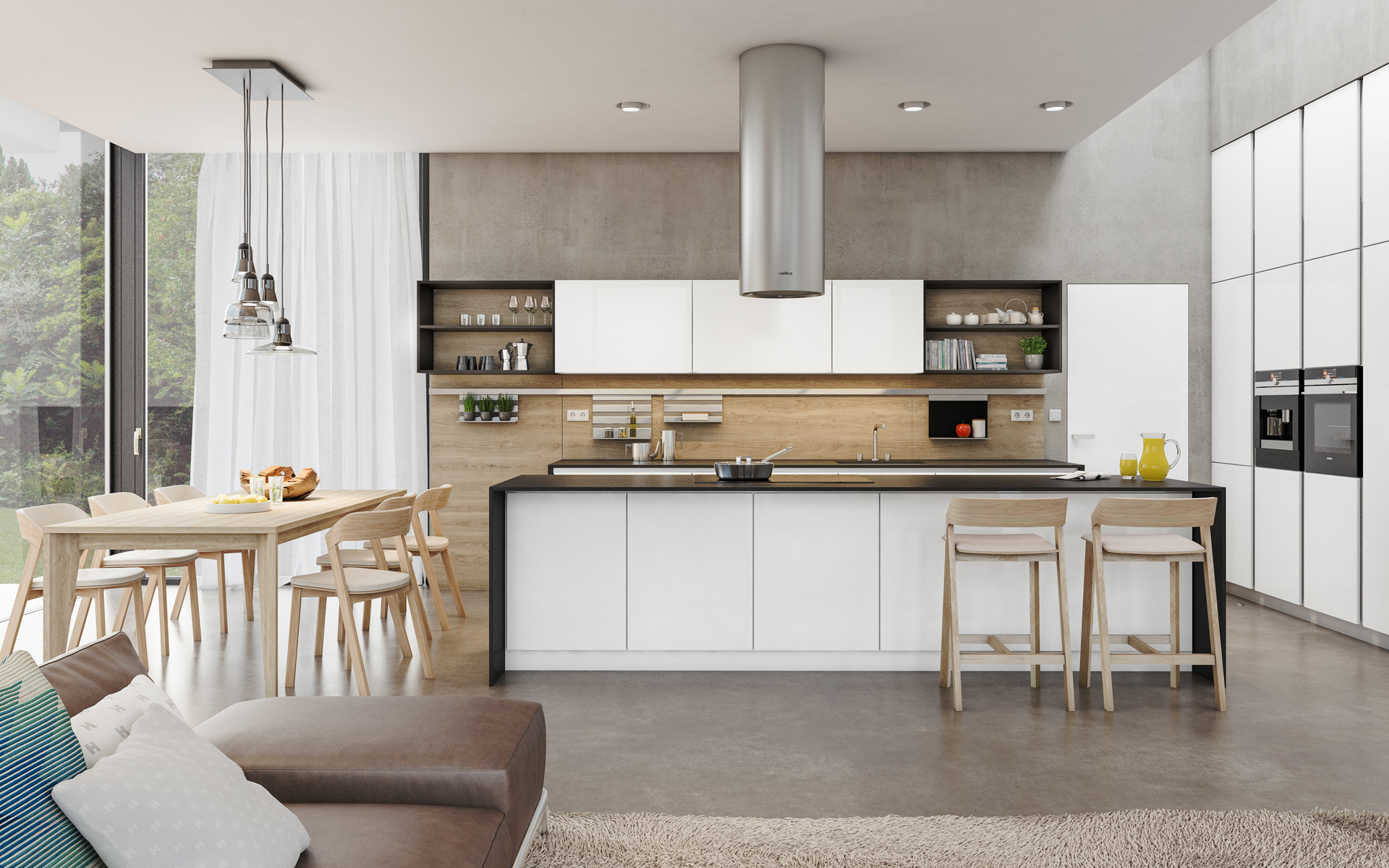 INTERIOR CONCEPT HANÁK is endless in its possibilities