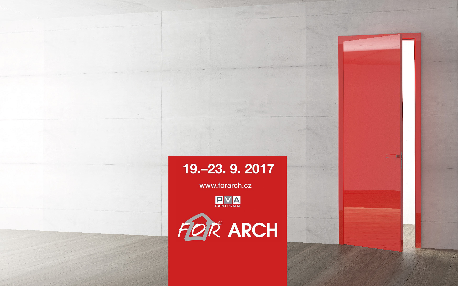 Come to see us on the FOR ARCH 2017. You will see plenty of innovations.