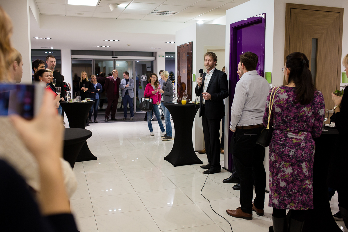 The culinary evening in the redesigned HANÁK CENTRUM showroom, Brno